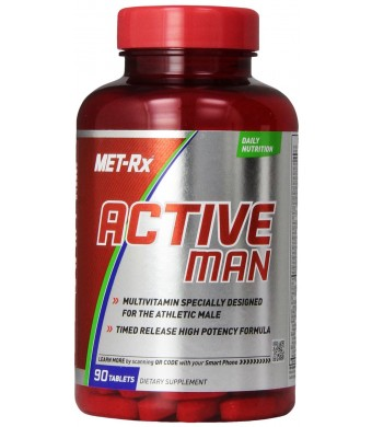 MET-Rx Active Man Daily, 90 Count