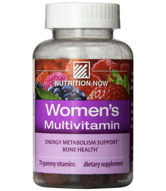 Nutrition Now Women's Gummy Vitamins, 70 Count