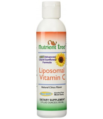 Advanced Liposomal Vitamin C, SunFlower Formula, Citrus Orange Flavor, 5 oz.