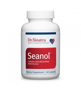 Dr. Sinatra's Seanol with Antioxidant-Rich Seaweed to Support Heart Health, 60 capsules (30-day supply)