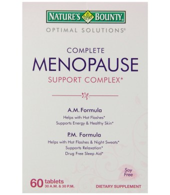 Nature's Bounty Menopause Support Complex, 60 Count