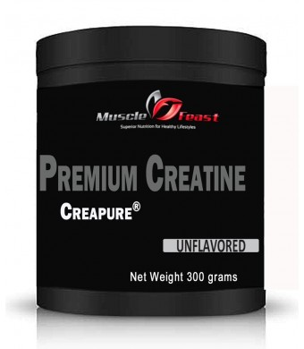 Creapure Creatine unflavored 300 Grams (10.5 Ounces)