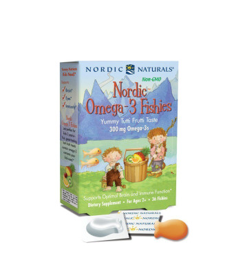 Nordic Naturals - Omega-3 Jellies - 36 Chewables, 300 mg
