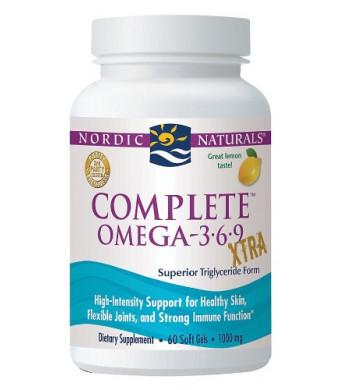Nordic Naturals Complete Omega Xtra-Lemon-60 ct