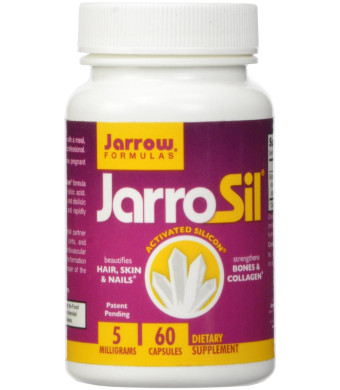 Jarrow Formulas Jarrosil Activated Silicon Supplement, 60 Count