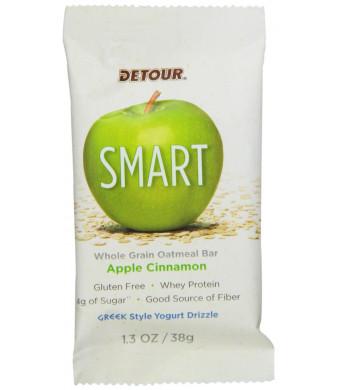 Detour Smart Nutrition Bars, Apple Cinnamon, 1.3 oz., 9 Count