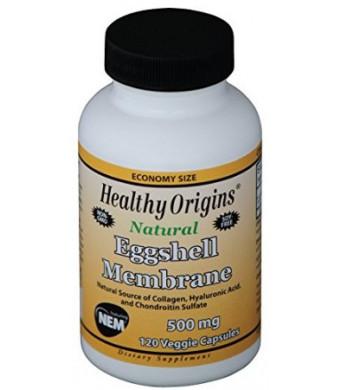 Healthy Origins Eggshell Membrane Veg Capsules, 500 mg, 120 Count