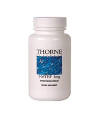 Thorne Research 5-MTHF (5-Methyltetrahydrofolate) 60 Capsules