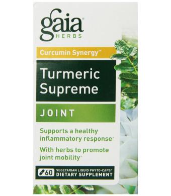 Gaia Herbs Turmeric Supreme Joint, 60 Count