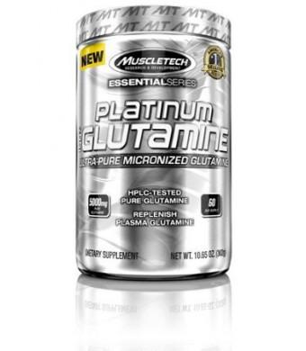 MuscleTech Platinum 100% Glutamine Supplement, 302 Gram