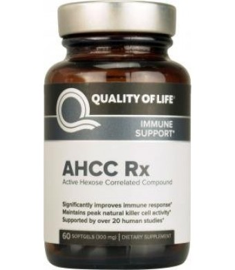 AHCC-Rx Quality of Life Labs 60 Softgel