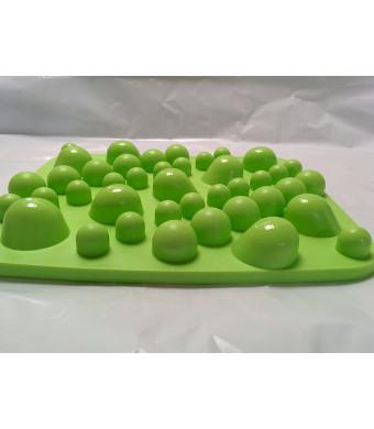 Japanese Rock Garden Foot Massager and Reflexology Board (Green)
