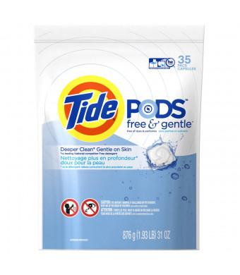 Tide Gentle HE Laundry Detergent 35 Count