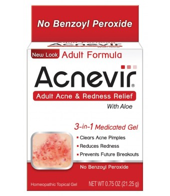 Acnevir Acne and Redness Relief Gel, 0.75 Ounce