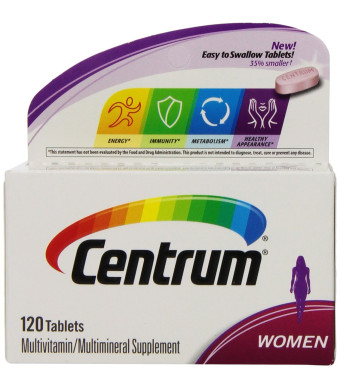 Centrum Women's Multivitamin Supplement, 120 Count