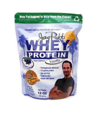 Jay Robb Whey Protein Isolate Vanilla 12oz