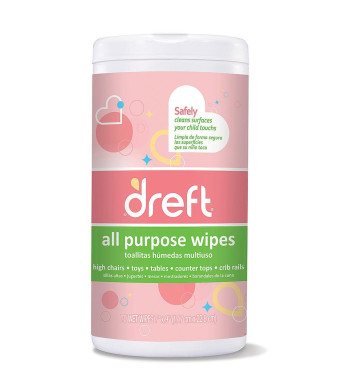 Multi Surface Cleaner Wipes, 70 Count