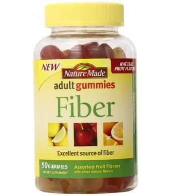 Nature Made Fiber Adult Gummies, 90 Count