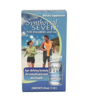 Synthovial Seven Hyaluronic Acid Liquid - Joint Support By Hyalogic - 1 oz