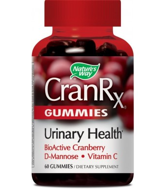 Nature's Way Cranrx Gummies -- 60 Gummies