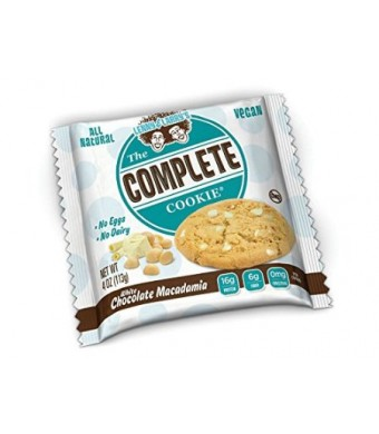 Lenny and Larry's The Complete Cookie, White Chocolate Macadamia, 12 Count
