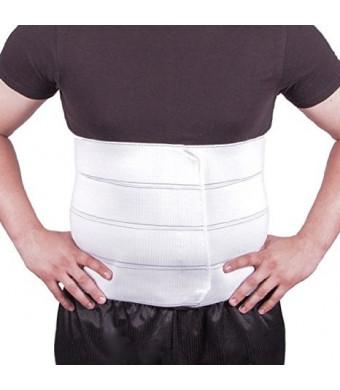 "BraceAbility Plus Size Bariatric Abdominal Binder - Fits 55"" -72""  Circumference"