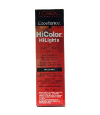 L'Oreal Excellence Hicolor Hilights Magenta 1.2 oz.