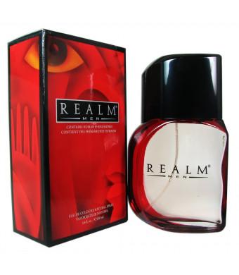 Realm by Erox for Men - 3.4 Ounce EDC Spray