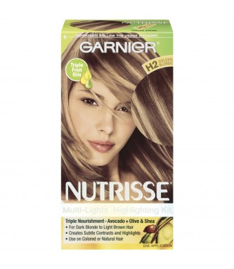 Garnier Nutrisse Nourishing Color Crème, H2 Golden Blonde Toffee Swirl