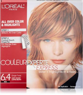 Couleur Experte Light Golden Copper Brown , Ginger Twist
