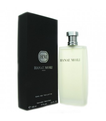 Hanae Mori By Hanae Mori For Men. Eau De Toilette Spray 3.4 Oz.