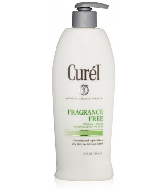 Curel Fragrance Free Lotion, 13 ounce