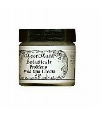 MoonMaid Botanicals: Pro-Meno Wild Yam Cream, 2 oz