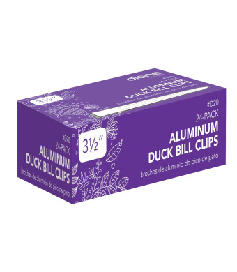 Diane Aluminum Duck Bill Clips (24 per pack)