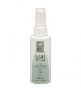 Desert Essence Tea Tree Relief Spray 4 oz Tea Tree Oil Spray