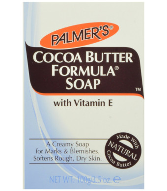 Palmer's Cocoa Butter Formula Cream Soap with Vitamin E, 3.5-Ounce Bars (Pack of 12)