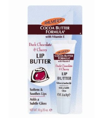 Palmer's Cocoa Butter Formula, Dark Chocolate and Cherry Lip Butter, 1 tube.