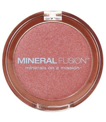 Mineral Fusion Natural Brands Blush, Airy, 0.10 Ounce