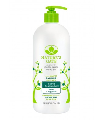 Nature's Gate Tea Tree Calming Shampoo, 32 Fluid Ounce