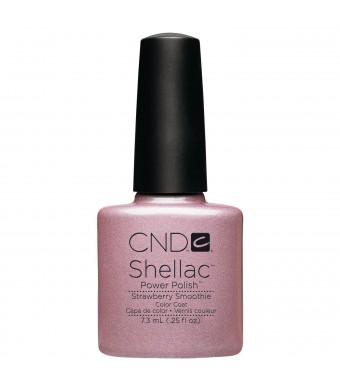 Creative Nail Shellac Strawberry Smoothie, 0.25 Fluid Ounce