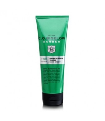 C.O. Bigelow Elixir 8.0 oz Green Hair and Body Wash