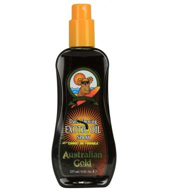Australian Gold Dark Tanning Exotic Oil Spray, 8 fl oz
