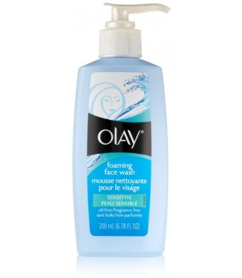 Olay Foaming Face Wash Sensitive -- 6.78 fl oz