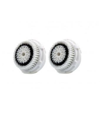 Clarisonic Dual Brush Head Pack, White Box