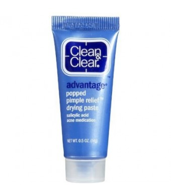 Clean and Clear Advantage Popped Pimple Relief Drying Paste .05 oz (14 g)