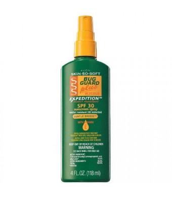 Avon Skin so Soft Bug Guard Plus Expedition SPF 30 Pump Spray