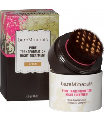 Bareminerals Pure Transformation Night Treatment 4.2G Medium