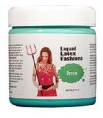 Ammonia Free Liquid Latex Body Paint - 4oz Green