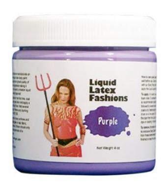 Ammonia Free Liquid Latex Body Paint - 4oz Purple