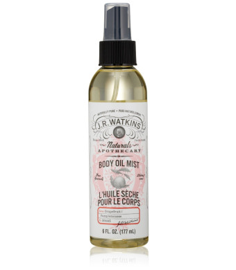 J.R. Watkins Grapefruit Body Oil Mist 6 oz